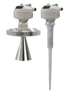 نمایی کلی از دو سنسور خازنی کنترل سطح